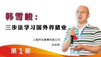 动力人物—韩雪峻:三步法学习国外养猪业