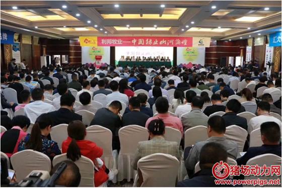 """顺应时势,第六届(2019)中国猪业""""山河""""论坛在济南胜利召开"""