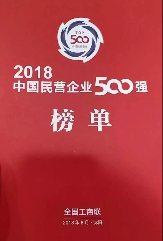 """恭贺双胞胎集团位居""""中国民营企业制造业500强""""第67位"""