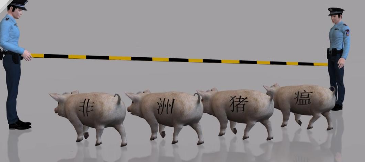 武汉海关:已查获旅客携带猪肉产品139批,肉类产品禁止入境